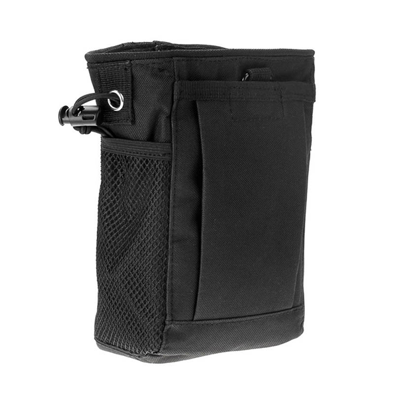 Military Molle Ammo Pouch Tactical Gun Magazine Dump Drop Reloader Bag Utility Hunting Rifle Magazine Pouch military molle admin front vest ammo storage pouch magazine utility belt waist bag for hunting shooting paintball cf game