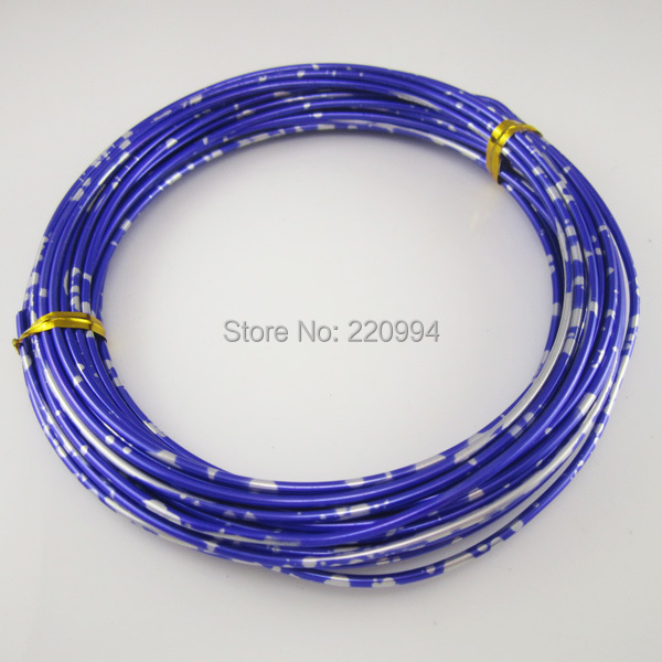 2mm Bonsai training aluminum wire color floral wire 10 meters per ...