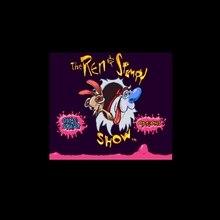 Ren& stipy Show, The-Time Warp 16 bit большая серая игровая карта для США NTSC игровой плеер