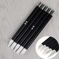 5Pcs Nail Art Carving Pen Set Different Shape Soft Silicone Engraving Pen Manicure Tool