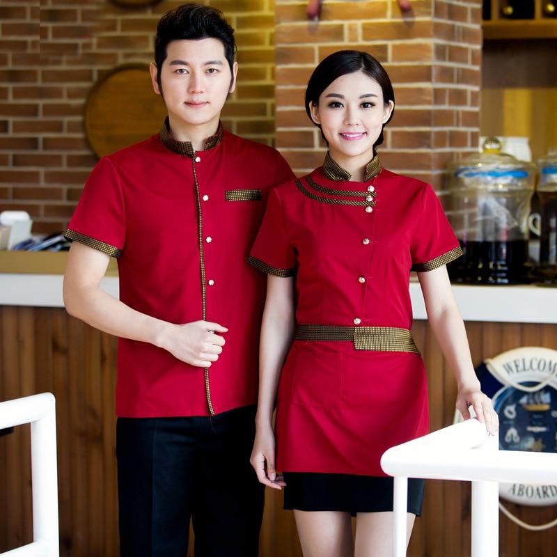 waiter uniform Picture More Detailed Picture about Short  : Short Sleeve Hotel Waiter Uniform Work Wear Restaurant Uniform Chinese Restaurant Waiter Uniform Restaurant Hostess Uniform from www.aliexpress.com size 800 x 800 jpeg 190kB