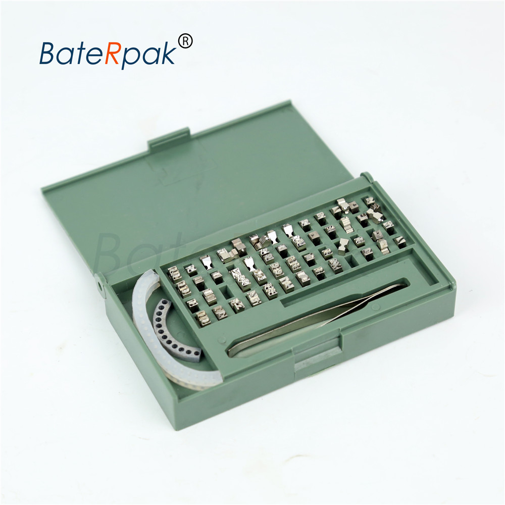 Steel Character kit for MY-300II/420 impress solid-ink coding machine letters,batch date printing machine parts,8/9/10.5PT-T typ