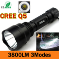 LED hunting Flashlight Torch Hight Power Cree Led Torch C8 Cree light lantern nitecore Waterproof IP-6 For 1x18650