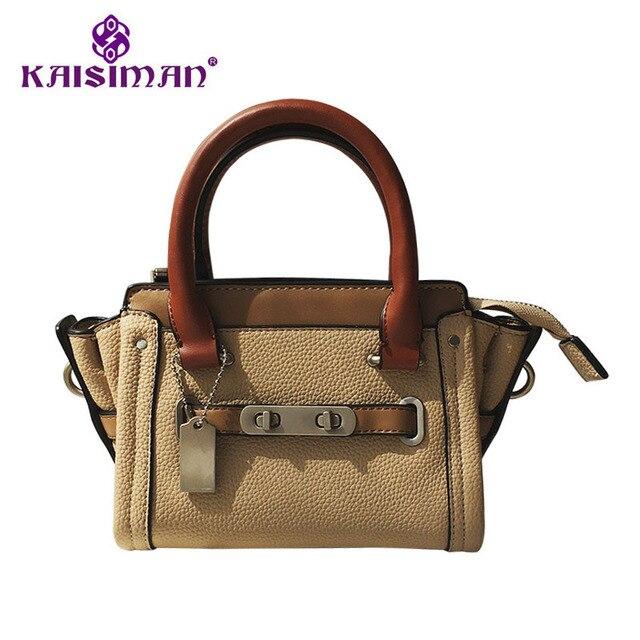 7b54b6be8cba Famous Fashion Bag Designer Woman Luxury Handbags Peekaboo Bag Female Tote  Bag Shoulder Wings Bag Lock Hit Color Mini Bag Khaki