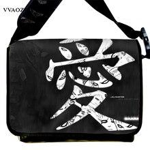Новая Мода Холст Сумка Наруто Гаара Любовь Печати Японии Аниме Косплей Школьный Плече Сумки