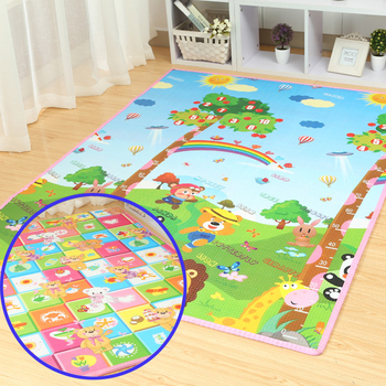 Good quality!Meitoku Baby Play Mat kid Toys Rugs for Children Foam Educational Developing Whole Carpet for Crawling  200cmX180cm 1