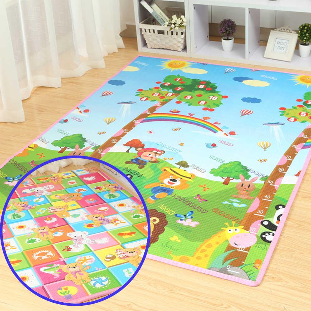 Iyi kalite! meitoku bebek oyun matı çocuk oyuncakları kilim çocuk köpük eğitim geliştirme tüm halı tarama için 200cm X 180cm