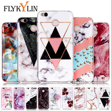 FLYKYLIN Marble Case For Xiaomi Redmi 4X Cases For Redmi 5A 5 Plus Note 5 Pro Back Cover Slim Soft TPU Silicone Coque Cute Capa