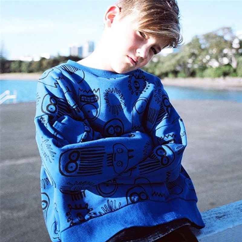 Enkelibb Sweatshirt Tops Kids Bunny/leopard Print Girls Baby Boys Fashion Brand Outwear
