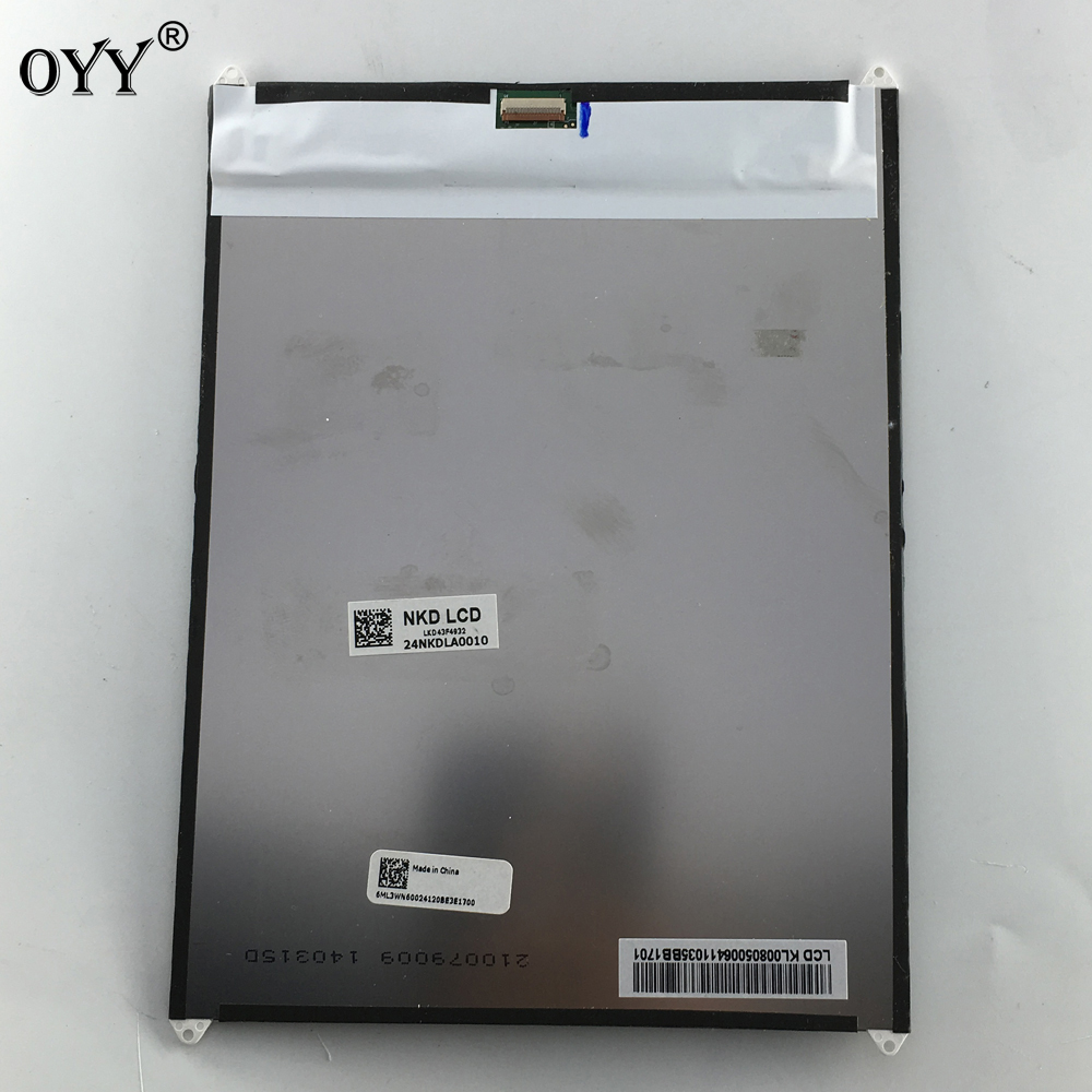 LCD Display Screen Replacement Parts 8 Inch For Acer Iconia A1-830 A1 830 1024x768 casio lq 142lb 1b