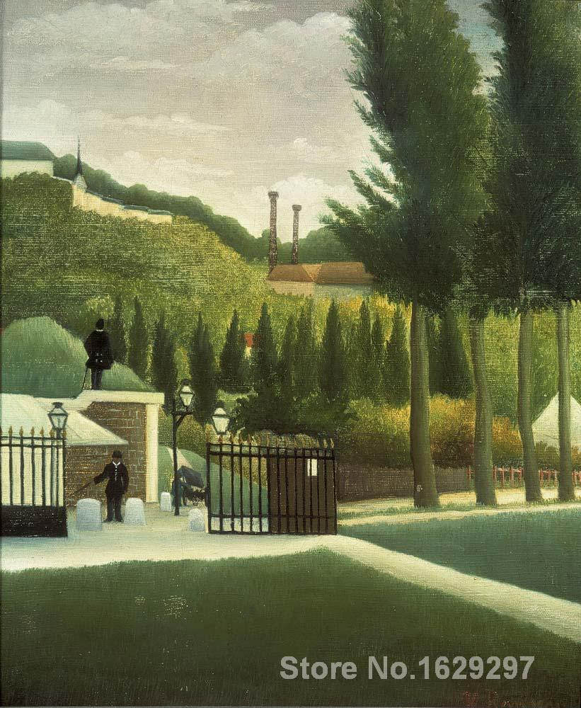 art for sale The Toll House by Henri Rousseau canvas Handmade High qualityart for sale The Toll House by Henri Rousseau canvas Handmade High quality