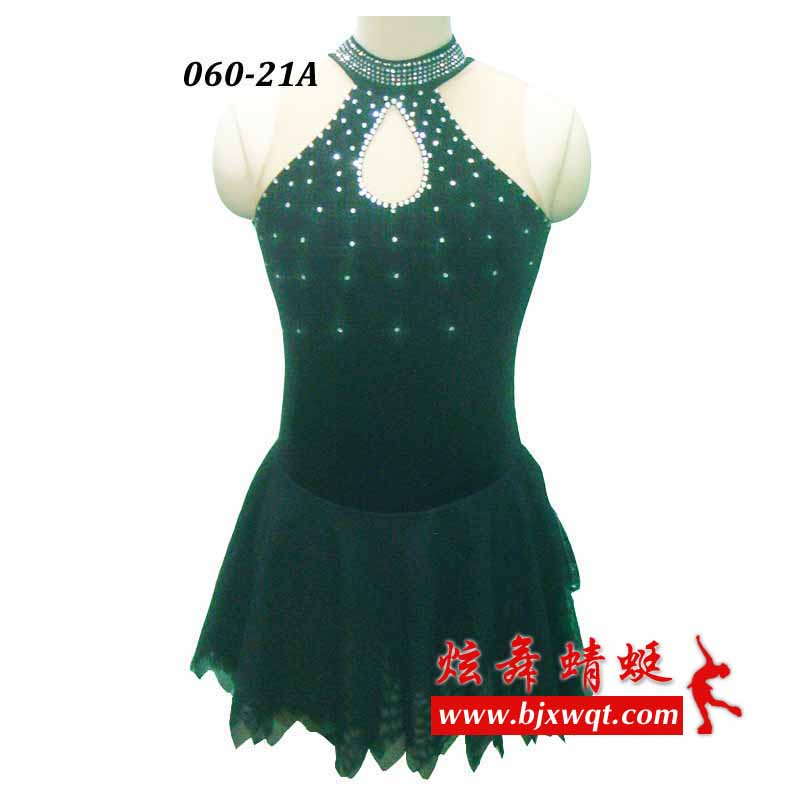 Customized adult figure skating dress