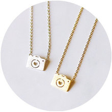1PCS- Mini Photo Camera Bijoux Necklace Camera With Heart Lens Chain  Necklace Lovely Camera with fdcb73ae0b698