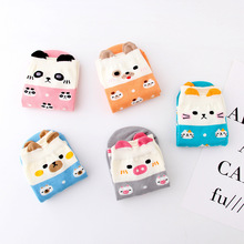 Socks women Spring Autumn pig cute socks breathable deodorant comfort casual cartoon japan korea