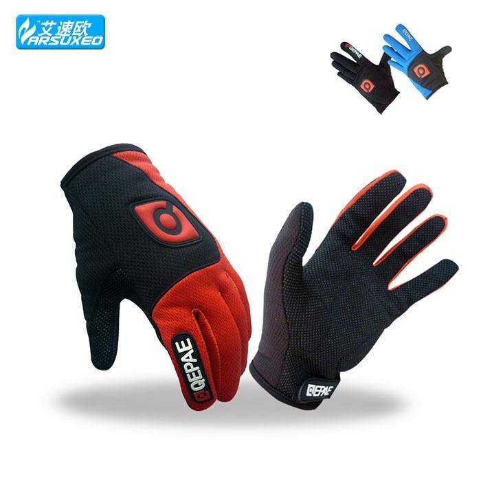 ARSUXEO cycling font b gloves b font Sports Skiing guantes ciclismo font b Glove b font