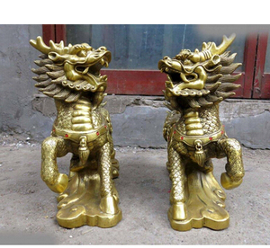 Copper Brass CHINESE crafts decoration Asian 12
