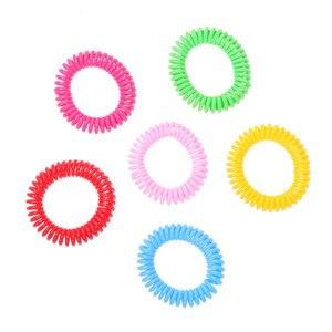 Image 5 - 5 шт. анти средство от насекомых, комаров на запястье браслет для волос кемпинг открытый удобный и практичный бытовой Лидер продаж