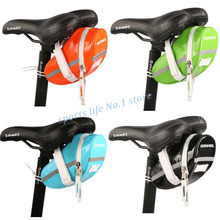 2015 ROSWHEEL Waterproof Mountain Road Bicycle Tail Bag Saddle Bag Bike Pouch Cycling Seat Bag Orange/Green/Blue/Black