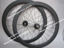 50mm deep clincher fixed gear single speed 700c carbon bicycle parts wheels in stock