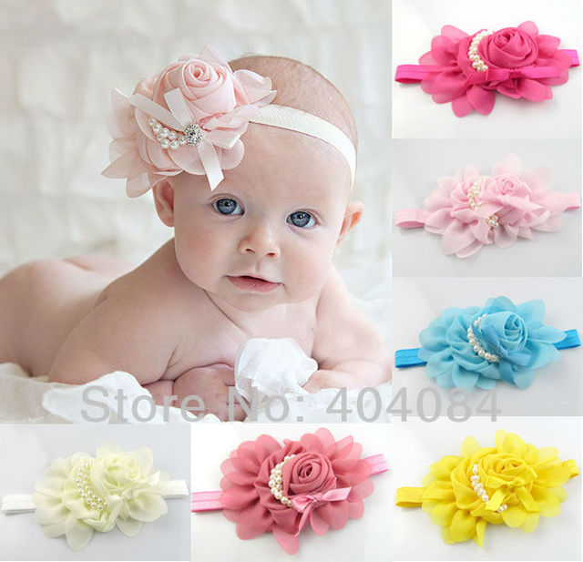 Retail16colors Beautiful Headband Hairband   Flowers Headbands ' Hair Accessories