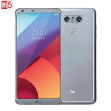 """מקורי LG G6 נייד טלפון 4G RAM 32G ROM Quad core 13MP מצלמה אחת SIM H871/ VS988 LTE 4G 5.7 """"הסלולר"""