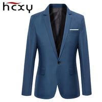 HCXY Men Blazer 2017 The New Fall mens jacket Business Slim Blazer Man Suit Jackets Male Clothing Big Size M 3XL