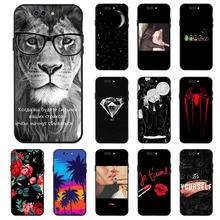 Ojeleye Fashion Black Silicon Case For Xiaomi Shark Cases Anti-knock Phone Cover Covers