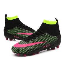 HoYeeLin/женские футбольные бутсы TF, футбольные бутсы Chuteira society, тренировочные бутсы, высокие спортивные кроссовки, европейские размеры 35-45
