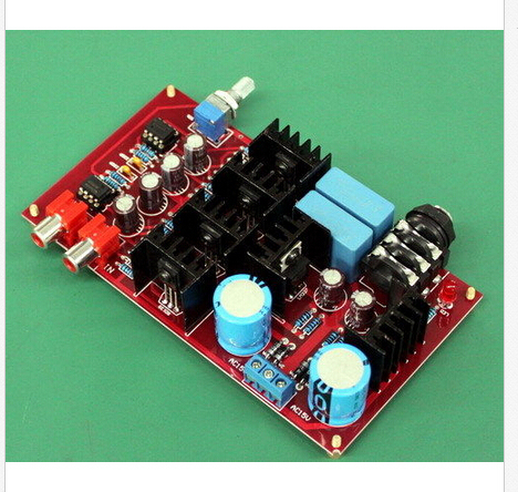 Toshiba BD139 BD140 NE5534 Headphone Amplifier Board Class A HI-FI Amp 32-600ohm