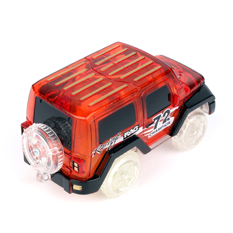 2018 Most Popular Toys Colorful Flashing Lights Roller coaster Diecasts Vehicles Toys For Children's racing game Boy's favorite