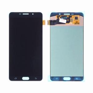 Image 1 - 삼성 갤럭시 A9 2016 A910 LCD 디스플레이 터치 스크린 디지타이저 어셈블리에 대 한 AAA LCD 삼성 A9 프로 A910 A9100 A910F LCD