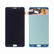 AAA LCD pour Samsung Galaxy A9 2016 A910 LCD écran tactile numériseur assemblée pour Samsung A9 Pro A910 A9100 A910F LCD