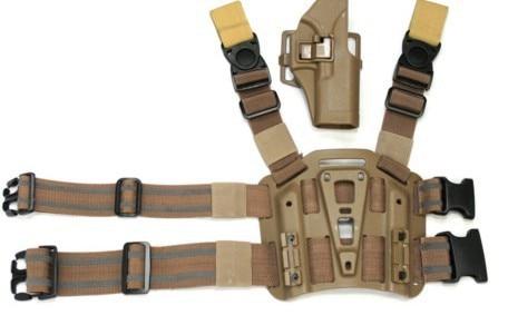 CQC Glock 17 Tactical Holster Platform Tan