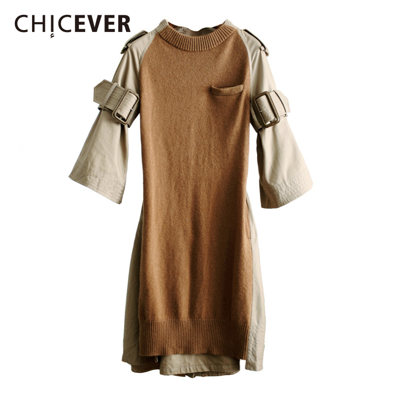 chicever-spring-knitted-women-dress-with-belt-flare-sleeve-loose-big-size-back-split-black-dresses-female-clothes-fashion-2018