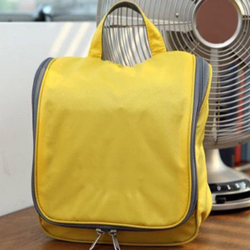 Travel Cosmetic Storage MakeUp Bag Folding Hanging Toiletry Wash Organizer Pouch For Women Men Best Sale-WT