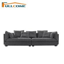 ФОТО luxury sofa home furniture modern fabric scandinavian sofa living room function backrest italian corner sectional latex sofa