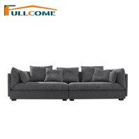 Luxury Sofa Home Furniture Modern Fabric Scandinavian Sofa Living Room Function Backrest Italian Corner Sectional Latex Sofa