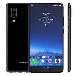 Image 3 - Смартфон SHARP AQUOS C10 S2 с глобальным ПО, 4 ГБ ОЗУ 64 ГБ ПЗУ, Snapdragon 630 восемь ядер, 5,5 дюймовый экран, мобильный телефон с NFC и двойной камерой 12 Мп