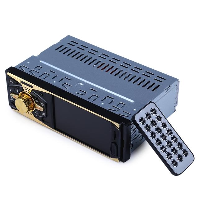 4011B 4 polegada um Ecrã TFT DIn 12 V Bluetooth V2.0 Câmera de Visão Traseira do Carro de Rádio de Áudio Estéreo Jogador MP5