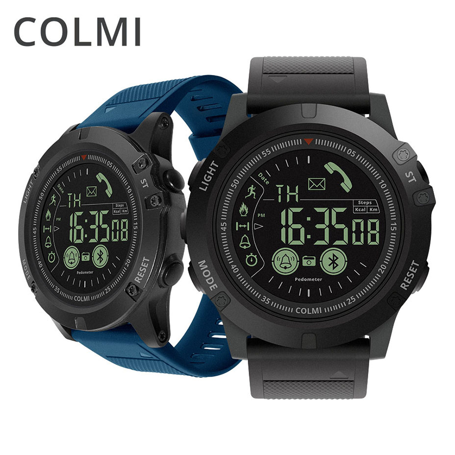 COLMI Flagship Smartwatch 33 month Standby 5ATM Waterproof Time 24h Step Activity Tracker Sport Smart Watch For IOS And Android