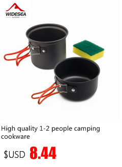hiking cooking set