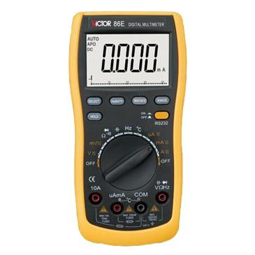 New Style Victor Resistance Testing Tool Volt Amp Ohm Meter Digital Multimeter VICTOR86E victor 6056d digital clamp meter