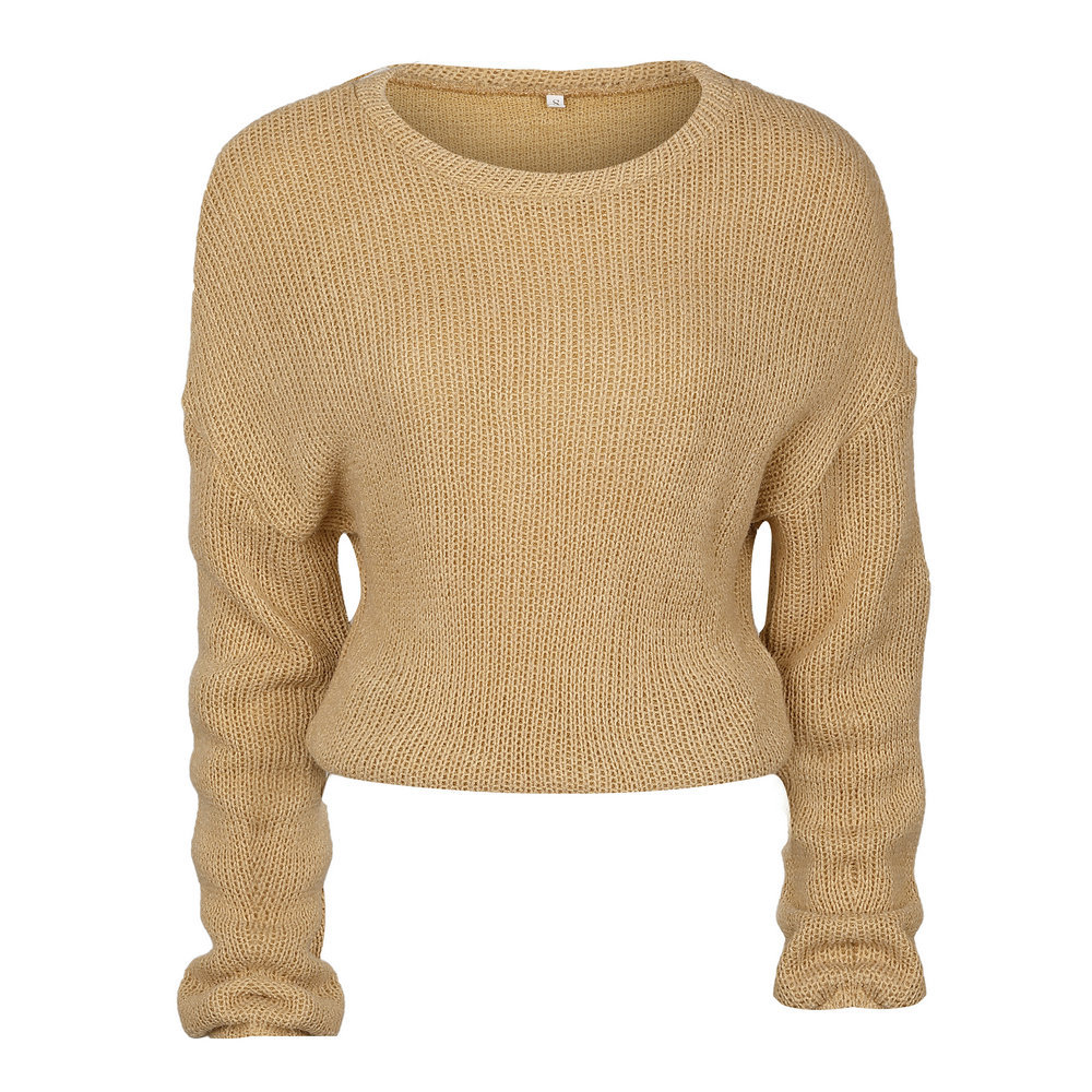 Winter sweater 2017 Autumn loose bottoming knitting sweater Women ...