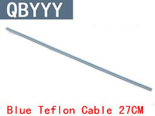 QBYYY 3PCS/LOT 30W 40W 24cm Soldering Iron Teflon Cable Blue Teflon Cable,Postal free