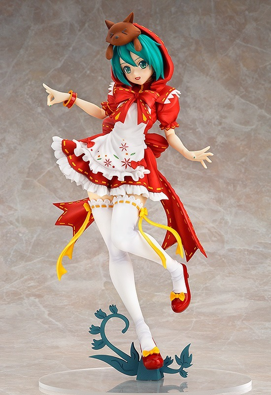 Hatsune Miku Red Riding Hood Project DIVA 2nd PVC Action Figure 3