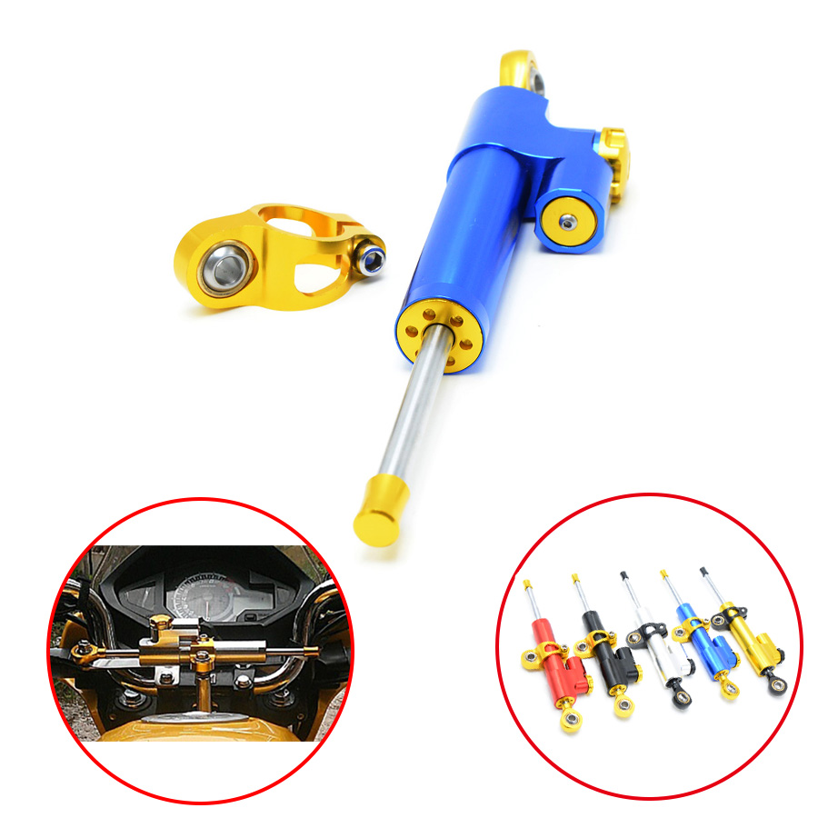 Hot Universal Motorcycle Damper Steering Stabilizer Linear Safety Control For DUCATI 848 1098 1199 899 1299 800 999 749 1000 959