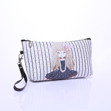 Lovely Cartoon Portable Cosmetic bag  Wash Supplies Makeup Products Storage Bags High Quality Cosmetic bags CB011