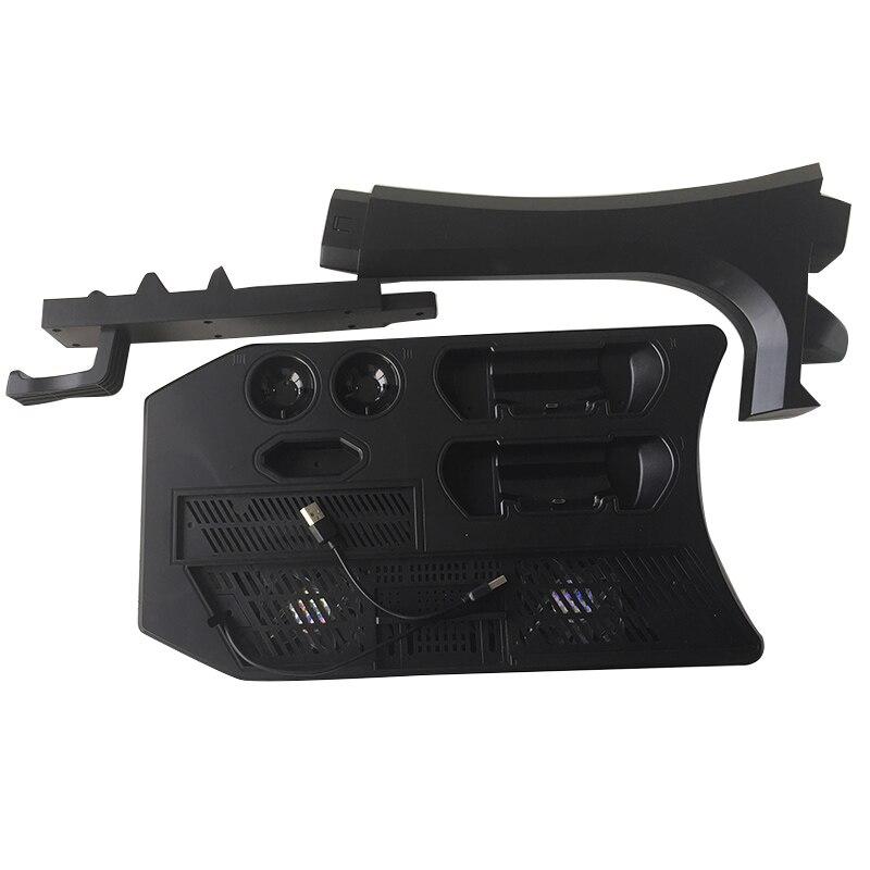 PSVR PS4 Pro Slim présentoir de chargement vitrine pour VR PS4 Playstation 4 support Vertical, ventilateur, refroidisseur, contrôleur chargeur HUB