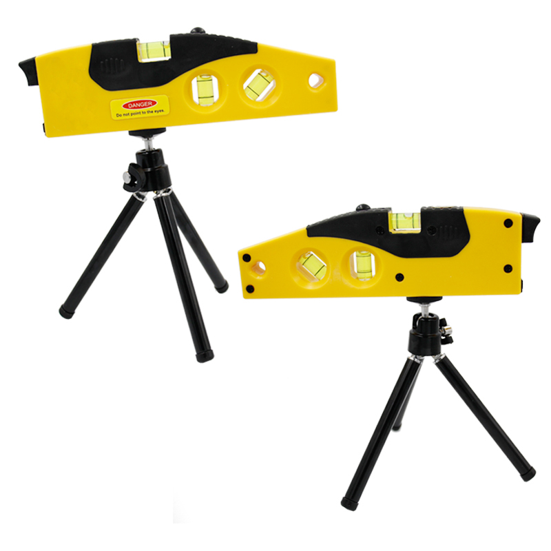 цена Cross Line Laser Levels Measuring Tool With Tripod Rotary Laser Tool Hot Sales Spirit Level Factory Sales 20%off
