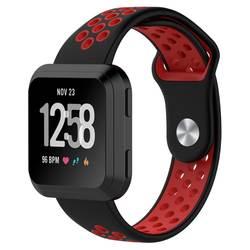 Замена силиконовый ремешок для Fitbit Versa Band Регулируемые часы ремешок с дышащими отверстиями для Fitbit Versa Smart watch band